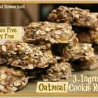 3-Ingredient Banana Cookie Recipe (Gluten Free & Dairy Free)
