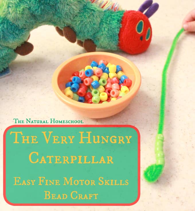 The Very Hungry Caterpillar: Bead Craft