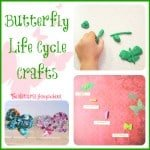 3 Butterfly Life Cycle Crafts & Ideas
