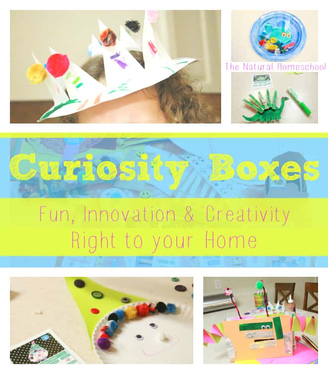 Curiosity Boxes: Fun, Innovation & Creativity (Coupon Code)