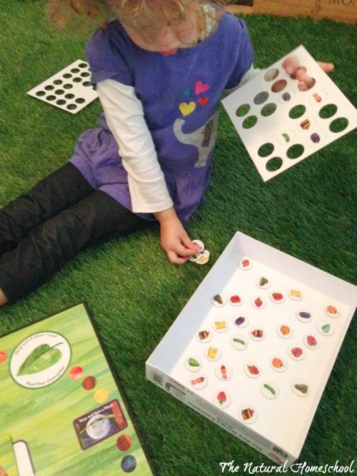 The Very Hungry caterpillar Storybook & Game