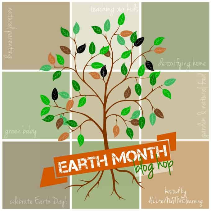 natural parenting guide and earth month blog hop