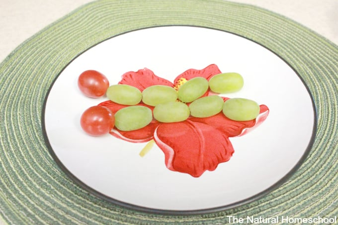 This snack is one that your kids can put together on their own. It is based on the wonderful children's picture book The Very Hungry Caterpillar by Eric Carle.