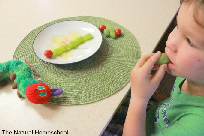 The Very Hungry Caterpillar Snack Ideas