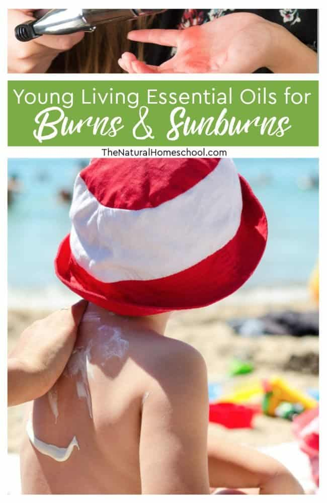 Read on to see our list of Young Living Essential Oils for Kids and Adults for Burns & Sunburns!