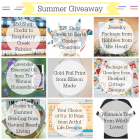 HUGE Giveaway Gearing Up for Summer!