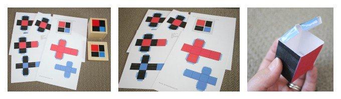 Montessori Sensorial: Binomial Cube (Free Printable!)
