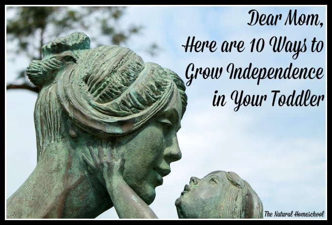 Dear Mom, Here are 10 Ways You can Grow Independence in Your Toddler