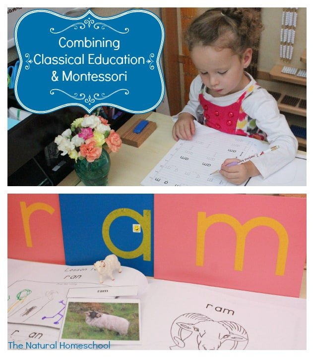 Combining Classical & Montessori Education to Teach Print