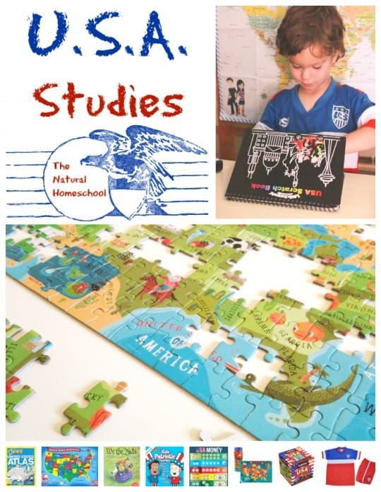 Awesome U.S.A. Studies (Activities & Free Printables)