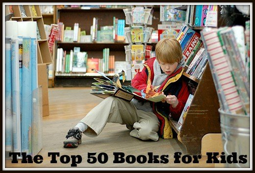 The Top 50 Books for Kids