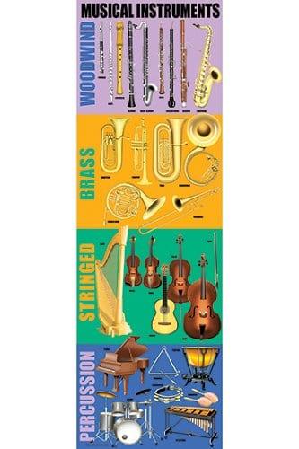 Montessori Music: Sorting & Labeling Musical Instruments {Free Printable}