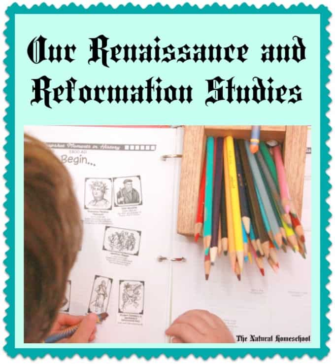 Our Renaissance & Reformation Studies