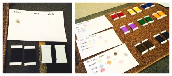 Montessori-Inspired Color Wheel Activities