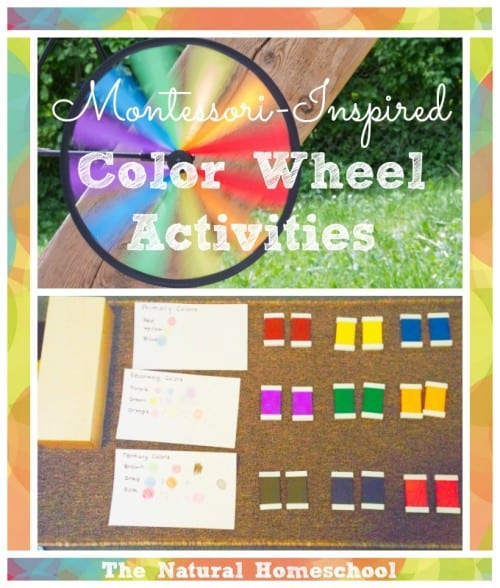 Montessori-Inspired Color Wheel Activities