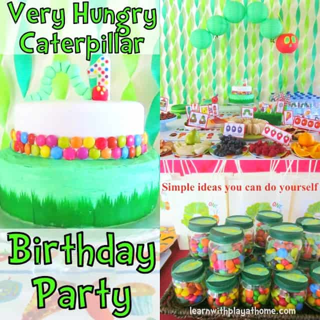 20 Very Hungry Caterpillar Activities & Crafts (Free Printable