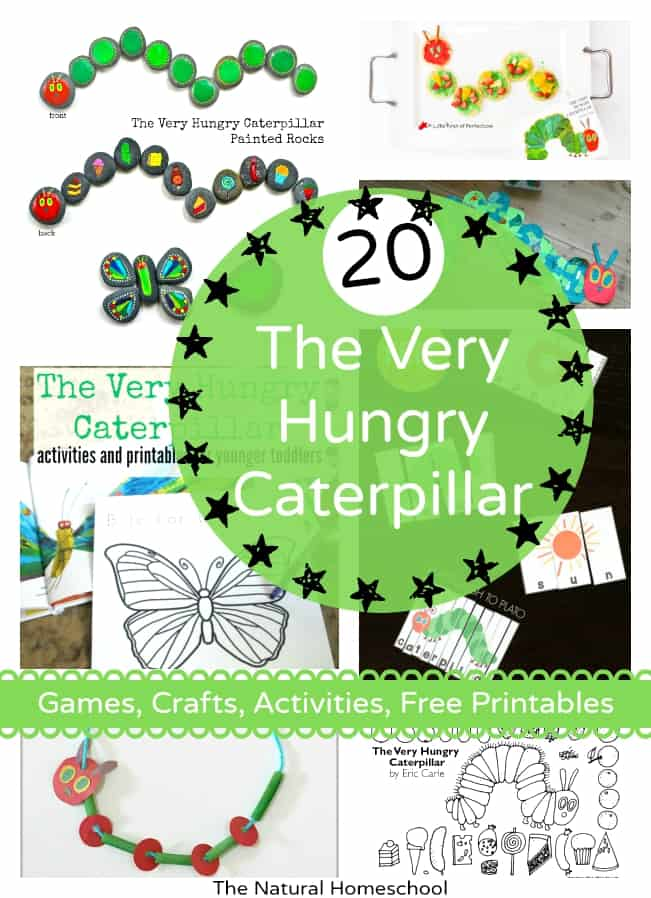 "Take a look at all of these posts on one very popular book: The Very Hungry Caterpillar (otherwise known as ""the Eric Carle butterfly book"")."