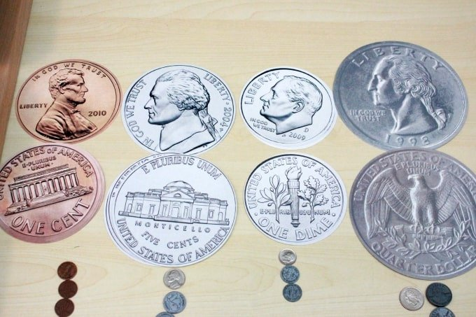 The Most Complete U.S. Coin Unit {Free Printables}