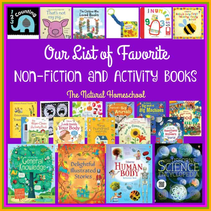 Our List of Favorite Non-Fiction and Activity Books