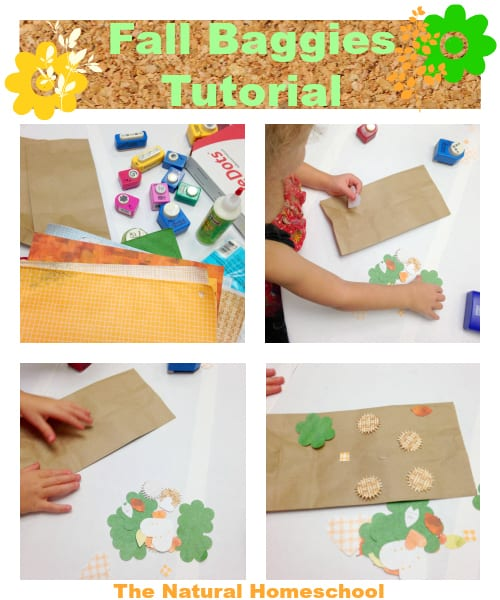Fall Treat Baggies Tutorial