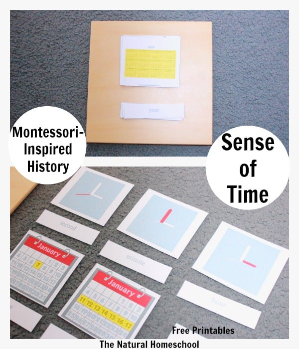 Montessori-Inspired History: Sense of Time {Free Printables}