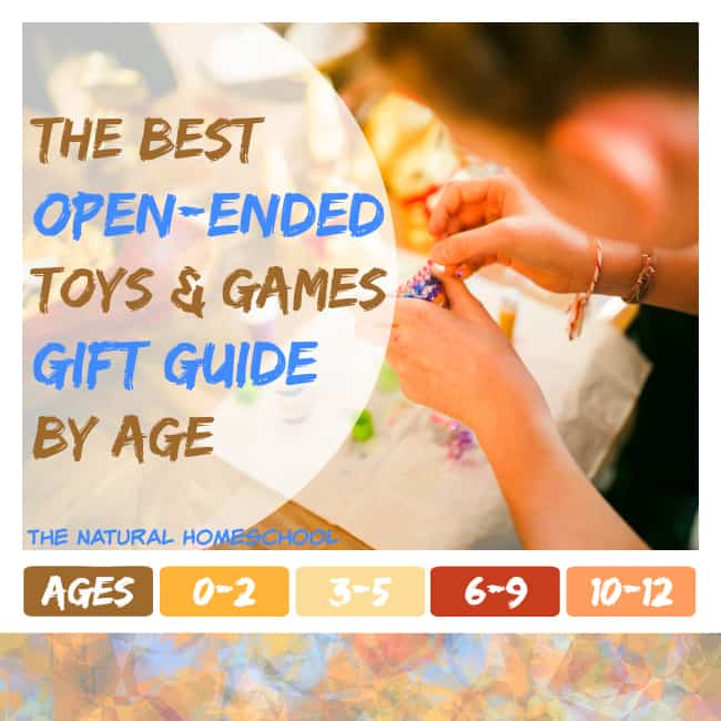 The Best Open-Ended Toys & Games Gift Guide by Age
