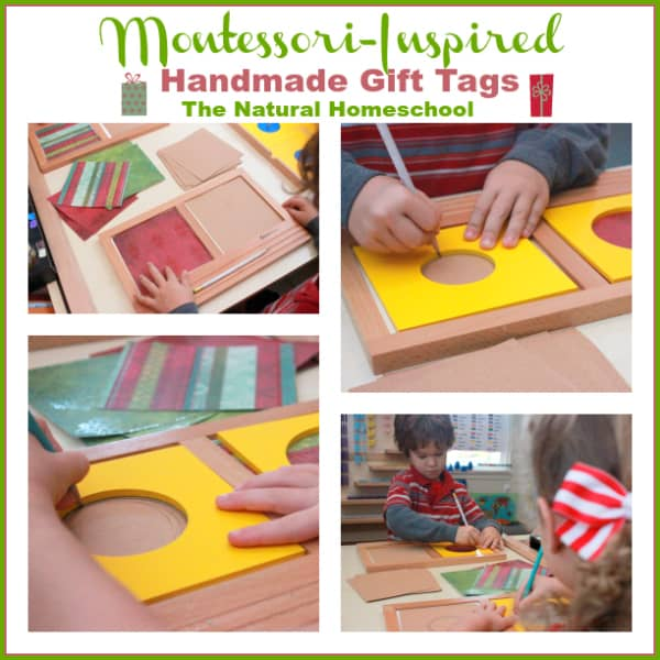 Montessori-Inspired Handmade Gift Tags