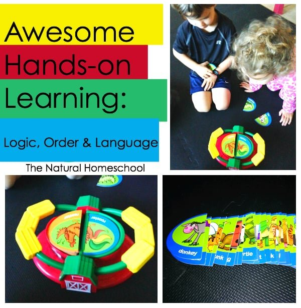 Hands-on Learning Games: Logic, Order & Language
