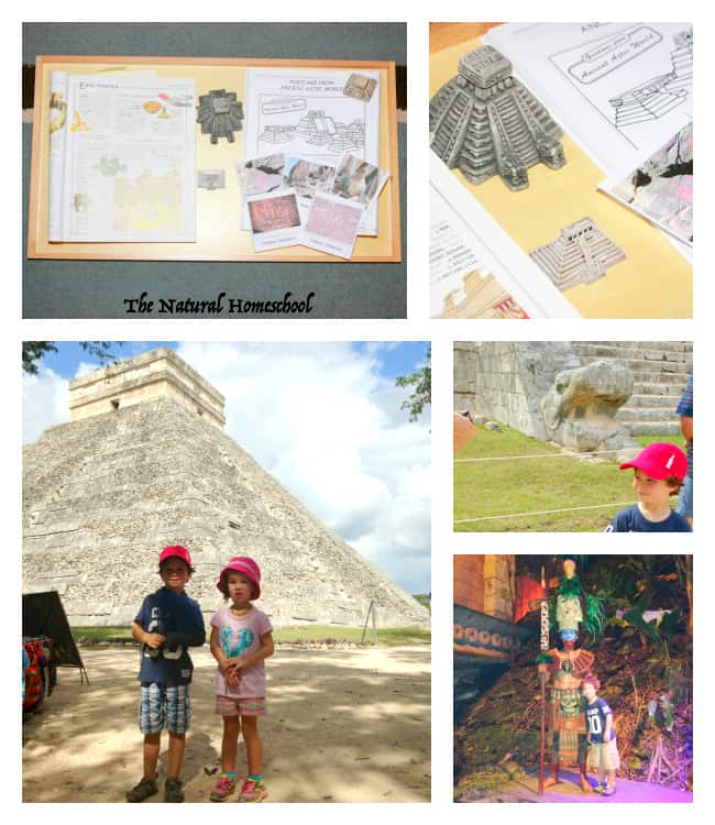 Ancient Native America & Ancient Maya Civilization Art & Architecture {Freebies}