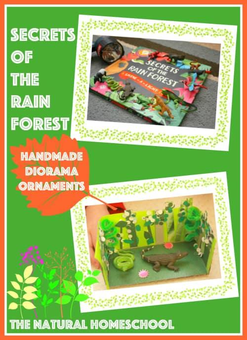 Handmade Rain Forest Diorama Ornament Tutorial