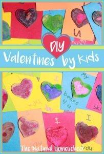 DIY Valentines by Kids