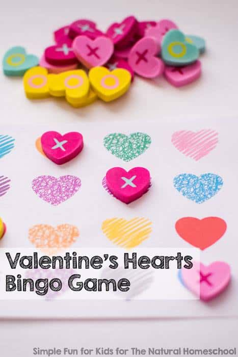 Valentine's Day Party Games & Activities Free Printable