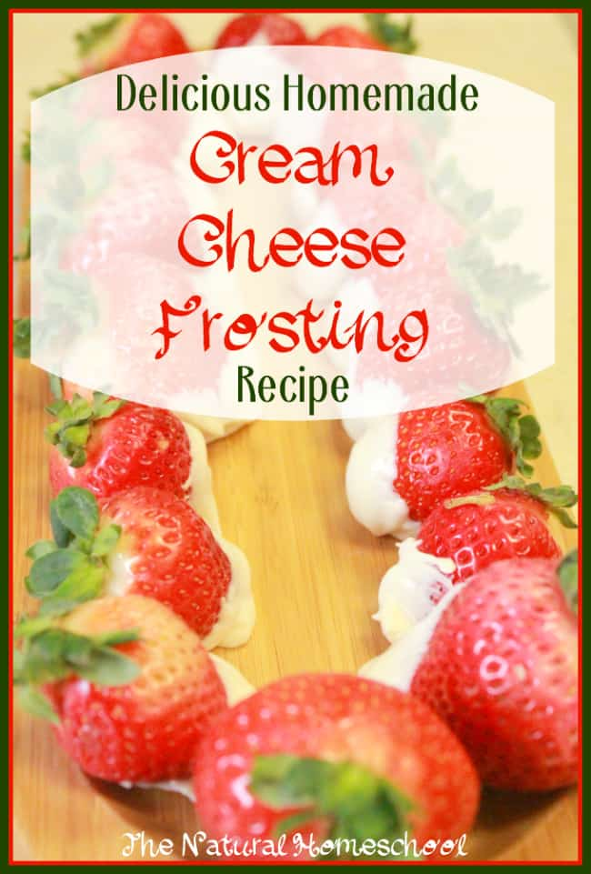 Homemade Cream Cheese Frosting Recipe {Free Printable}