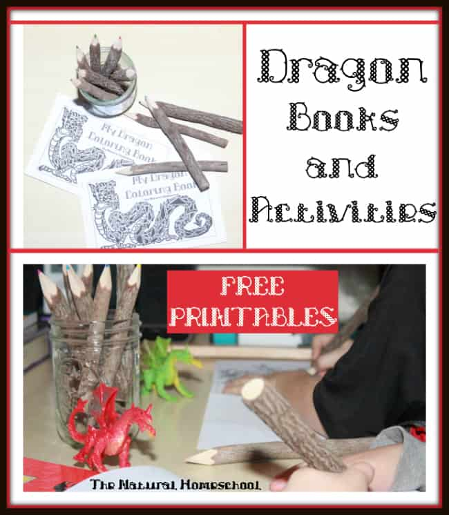 Dragon Books and Activities - Free Coloring Printable Pages