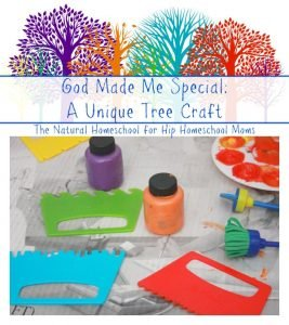 God Made Me Special Crafts {Free Printable}