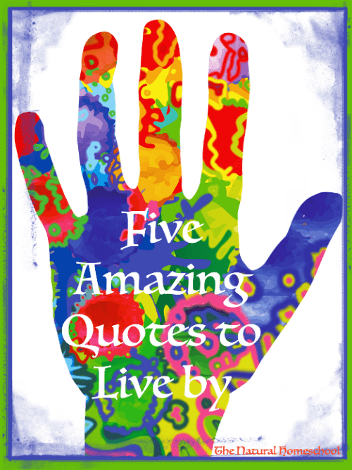 Five Amazing Quotes to Live by