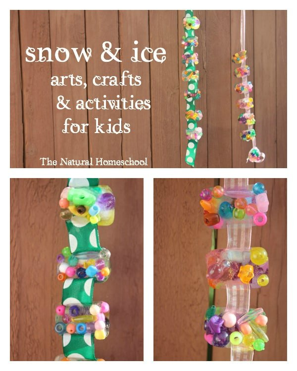 Snow & Ice - Kids Arts & Crafts Activities