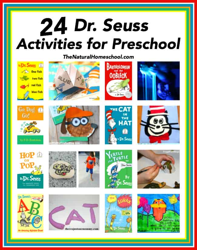 24 Dr. Seuss Activities for Preschool