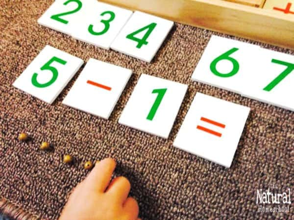If you were looking for lessons using Montessori Math curriculum homeschool, then look here. We have wonderful and easy Montessori at home Math free printable homeschool curriculum.