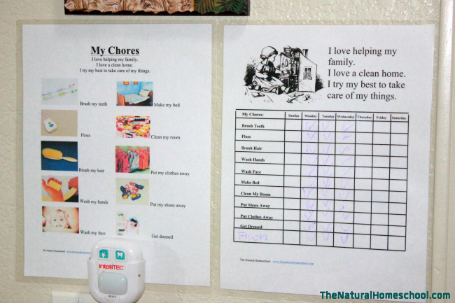 image regarding Printable Chore Charts for Multiple Children known as Chore Charts for Numerous Small children No cost Printable Charts