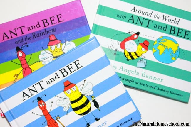 Insect books for Preschoolers that teach about maps, colors and sight words (Printables)