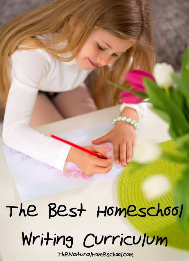 The Best Homeschool Writing Curriculum