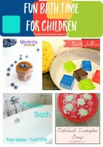 Fun Bath Time for Children {Link Party 80}