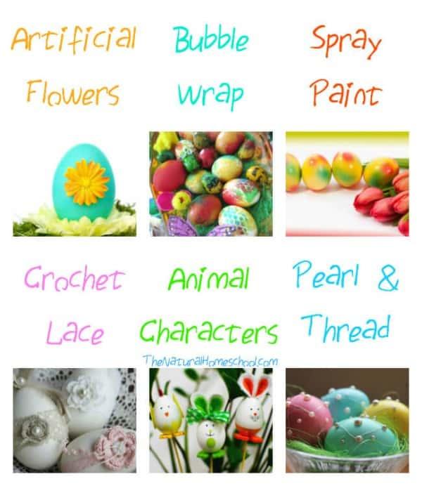 Egg Decorating Ideas for Kids (Plus Easter Printables)
