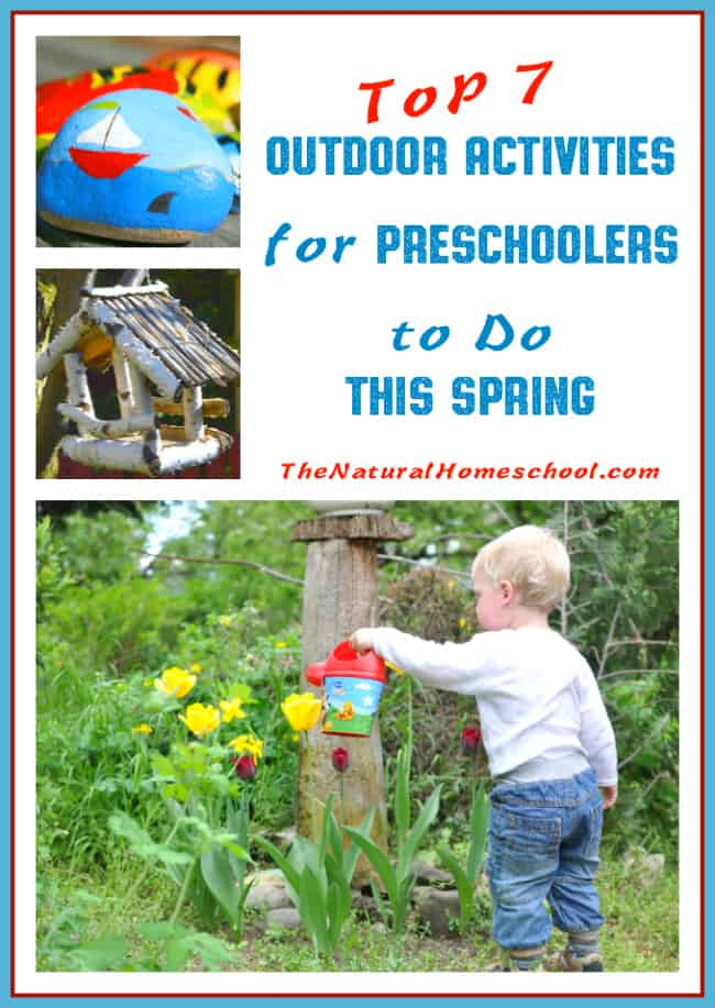 Top 7 Outdoor Activities For Preschoolers To Do This Spring