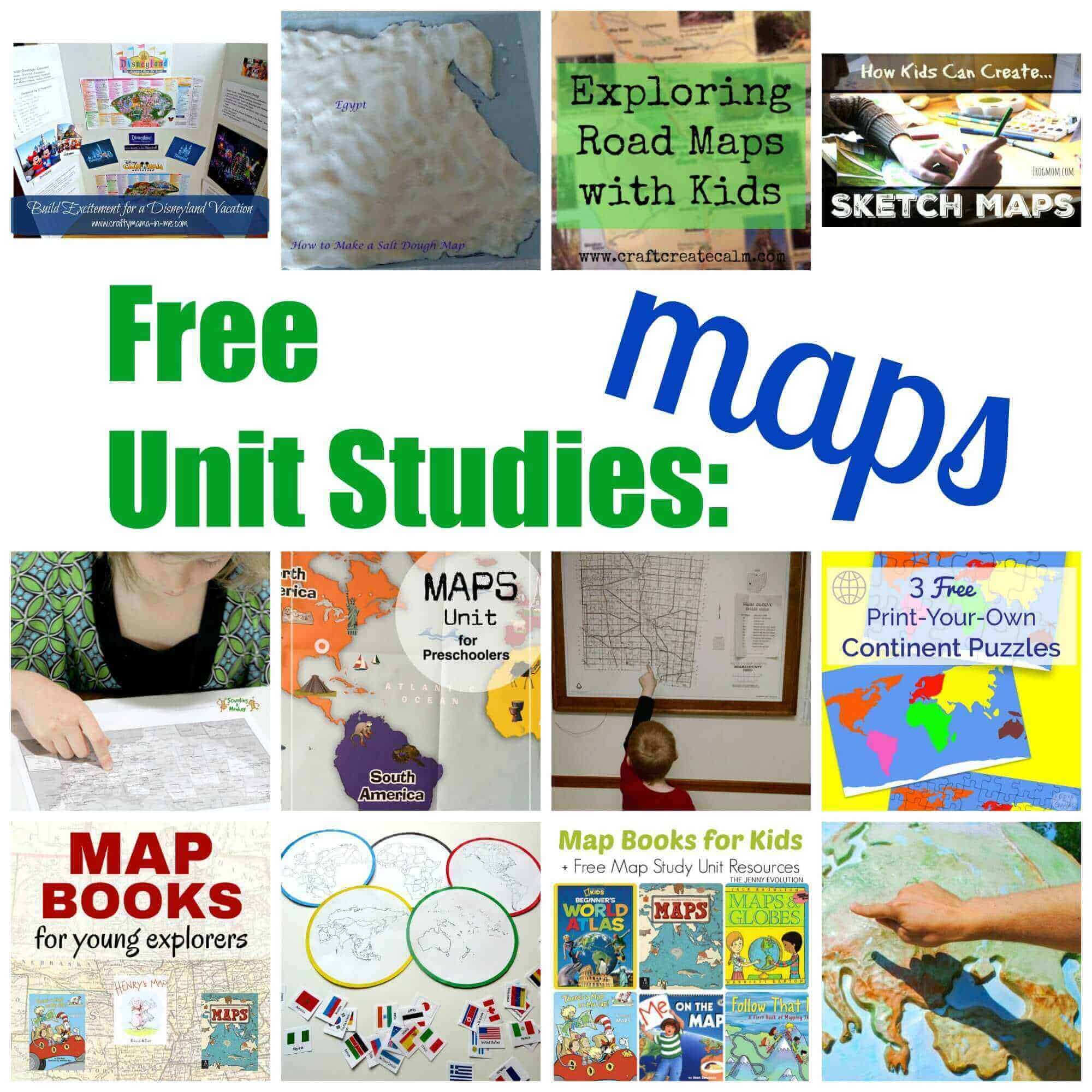 Map Activities for Kids: France, England, Ireland {Printable 3-Part ...