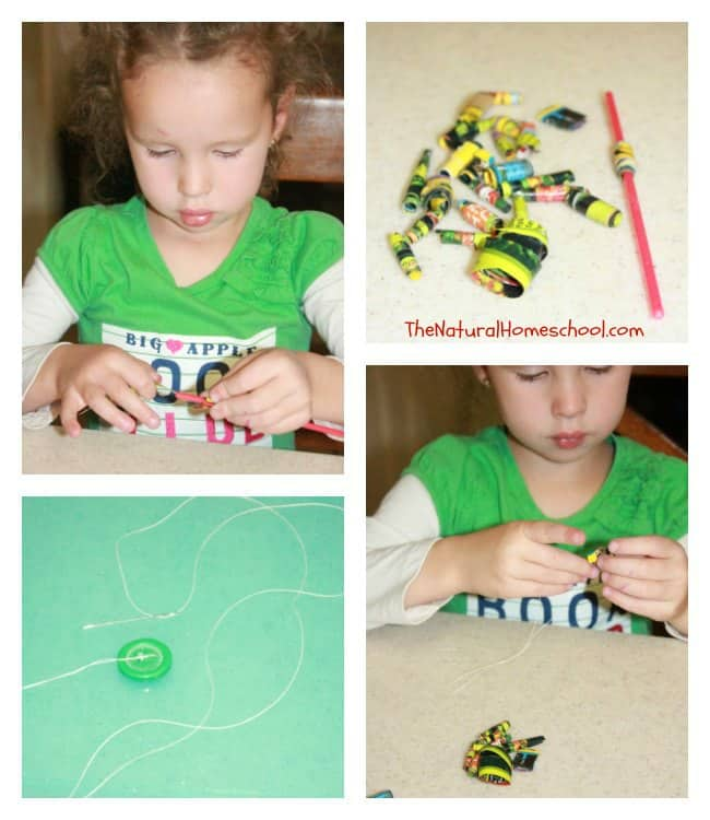 Simple & Fun Recycled Magazine Crafts for the Family