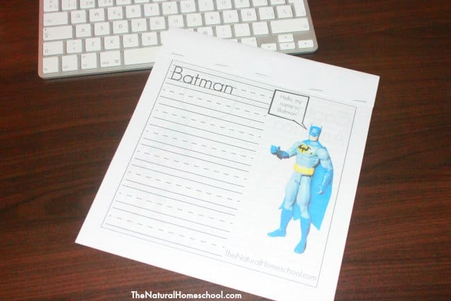 Superhero Children's Books & Activity {Printables}