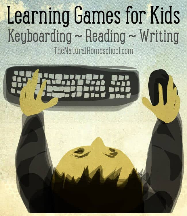 Learning Games for Kids - Keyboarding, Reading, Writing