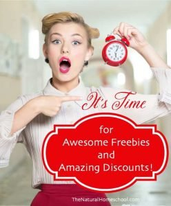 It's Time for Awesome Freebies and Amazing Discounts!